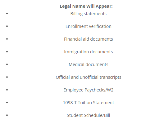 Taken from Fullerton College admissions and records website.