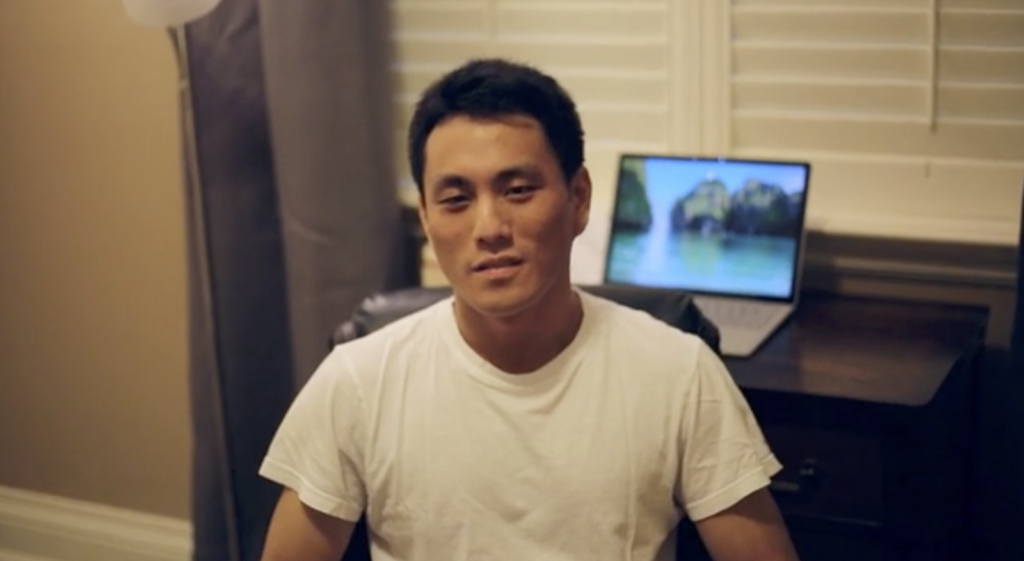 """""""The Conversation That Never Happened"""" produce by Gordon Yao. was among the short films shown at the Movies for Mental Health event on Friday."""