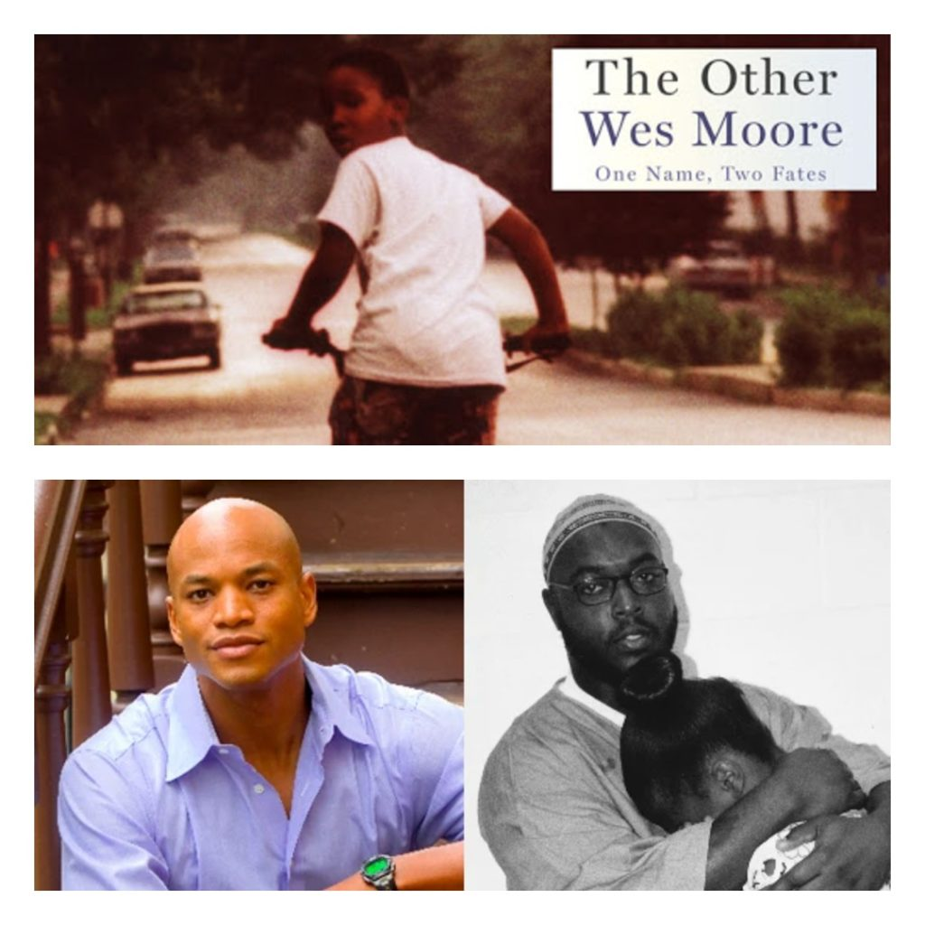 The Other Wes Moore was written by Wes Moore.
