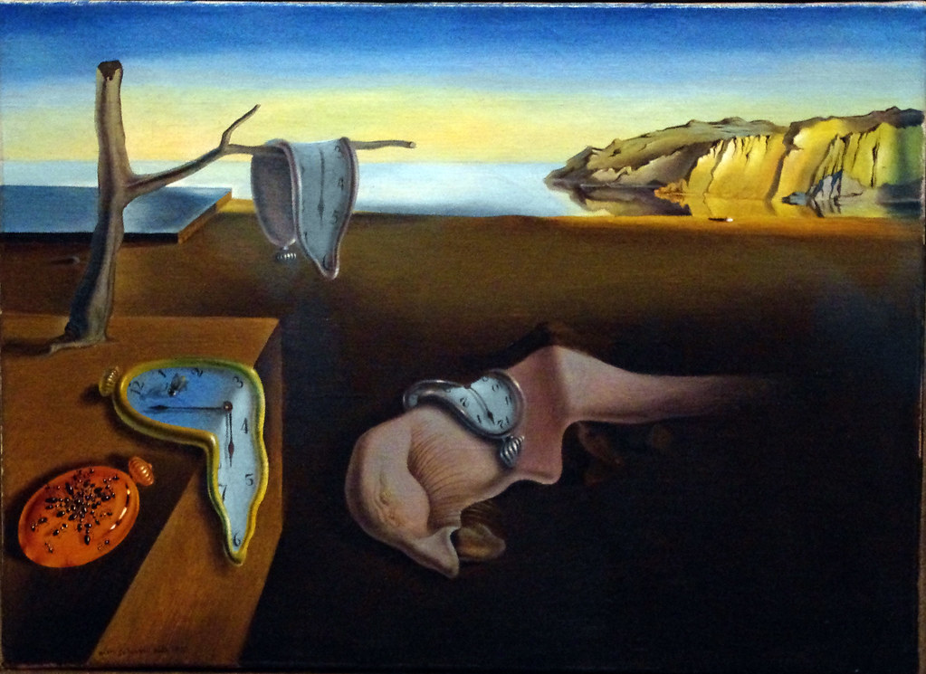 """Salvador Dali&squot;s most famous painting, entitled, """"The Persistence of Memory"""" (1931)."""