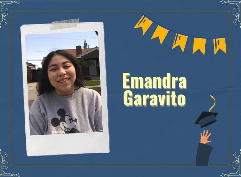 Emandra Garavito aspires to work within the field of public relations.