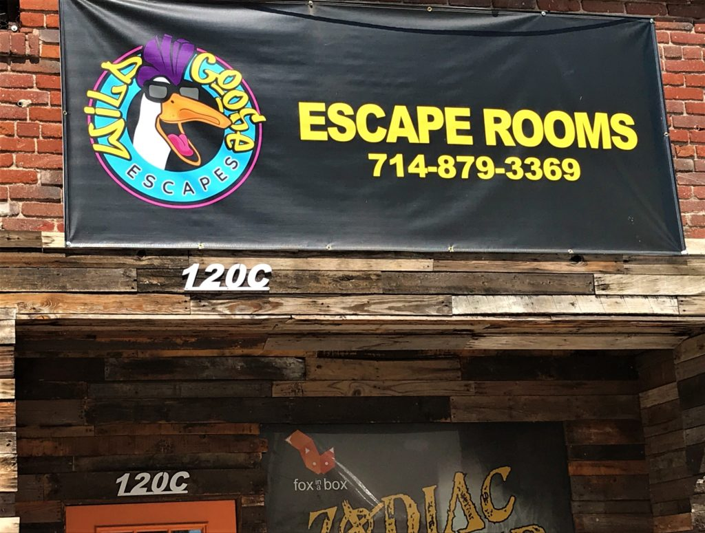 Wild Goose Escape opened its doors in late September of 2020 with reduced hours of operation in response to the pandemic safety guidelines.