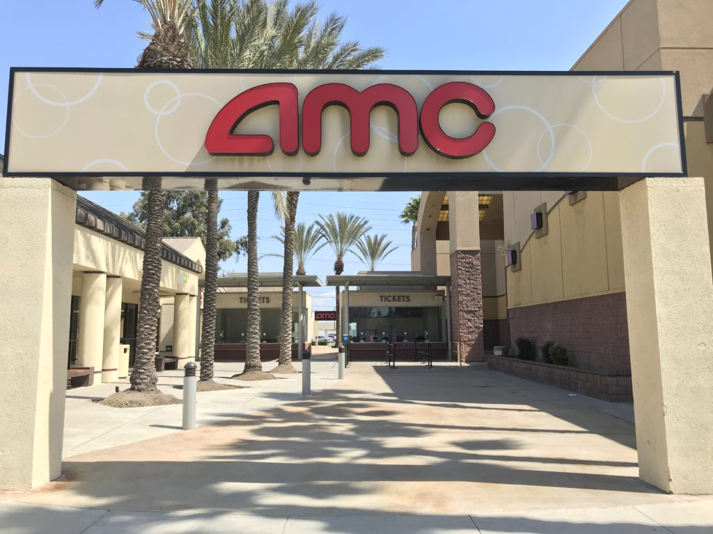 AMC Dine-In Theater opened its doors on March 19 with a current 25% capacity.