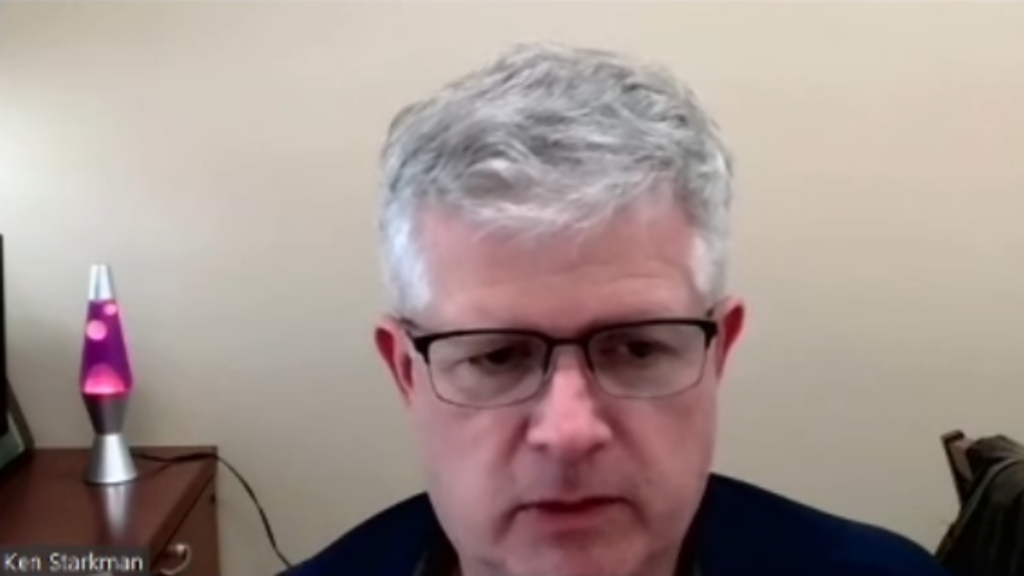 Zoom interview with Ken Starkman Dean of Technology and Engineering