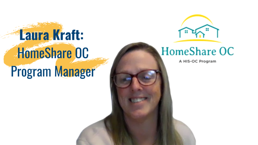 HomeShare OC began as Laura Kraft's master's thesis at CSUF; just months later, she made that dream into a reality.