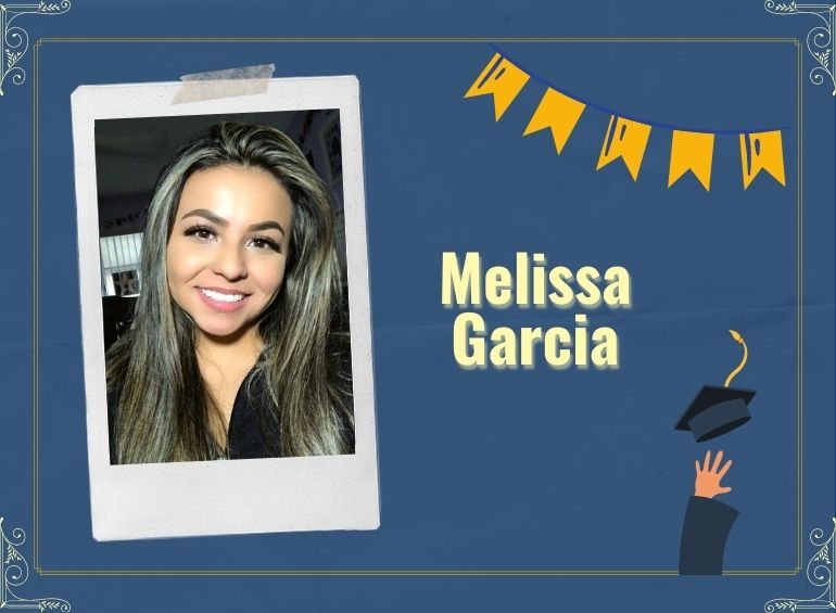 Melissa Garcia aspires to become a community college counselor.