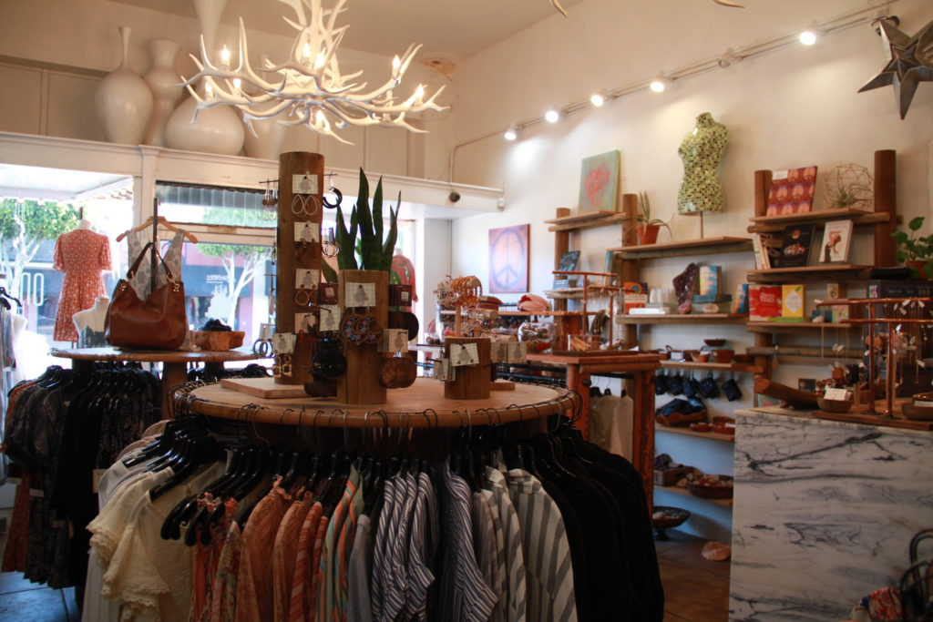 Roadkill Ranch has a one of a kind vibe with its displays of clothing and store decor.