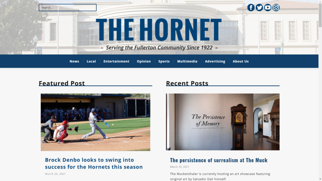 The Hornet's Homepage