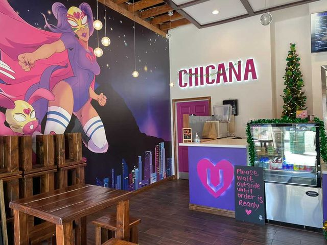 Chicana Vegana is now open for both indoor and outdoor dining at Downtown Fullerton.