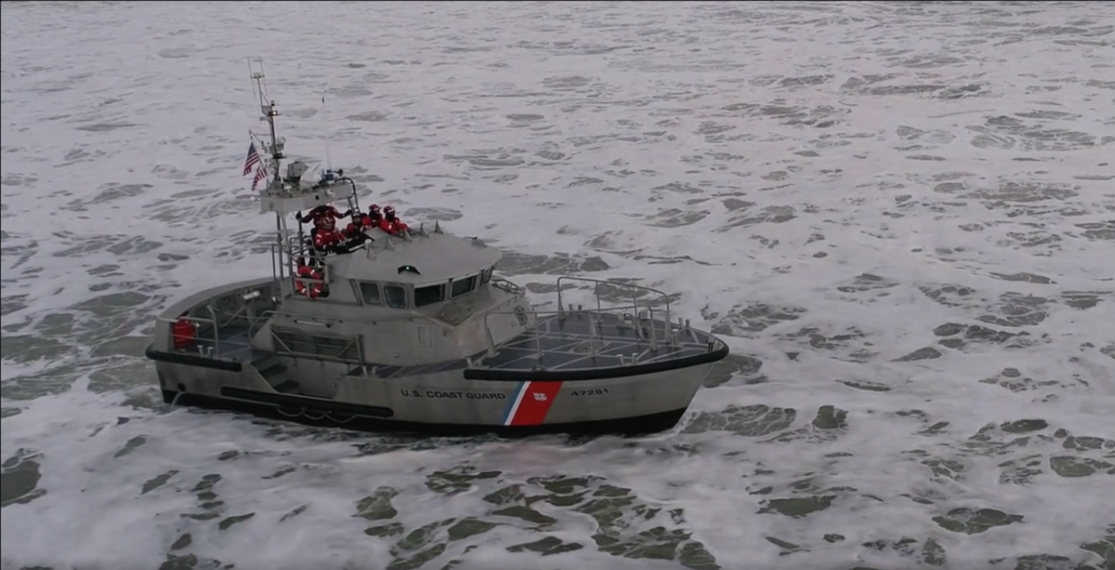 The film Semper Paratus was a finalist entry in the News/Documentary category, produced by John Gussman.