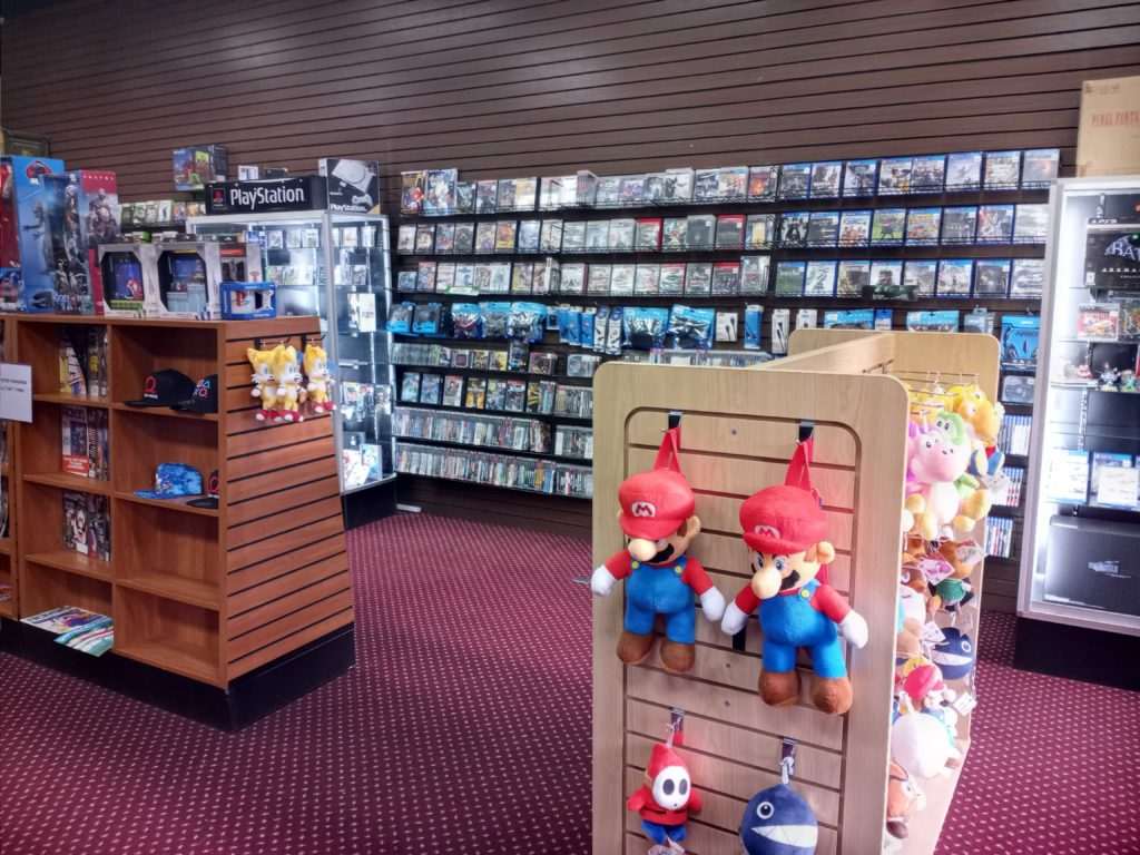 The shop section of Lost Levels.