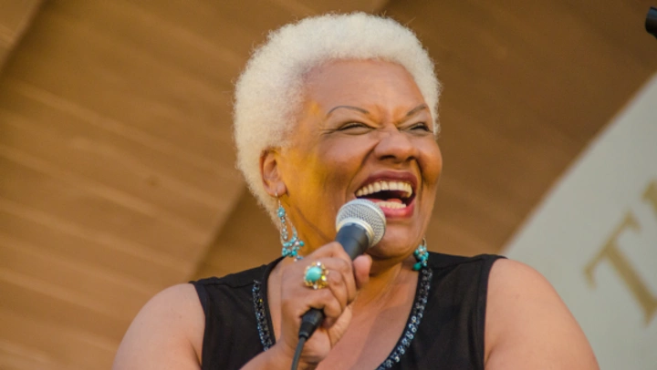 Barbara Morrison is a high-octave jazz and blues singer performing at this year's Muck Annual Jazz Fest 2021.
