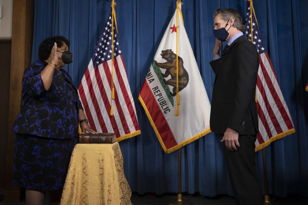 Secretary of State Shirley Weber was nominated by Gov. Gavin Newsom late last year, and officially sworn in Jan. She is the fifth African American to hold a constitutional officer position and the first Black Secretary of State.