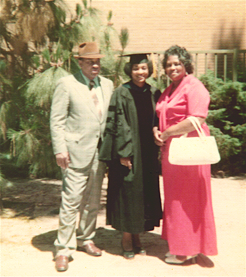California Secretary of State Shirley Weber said her father never missed a family member's graduation as he never received an adequate education during his time as a sharecropper in the Jim Crow South. Weber received her PhD from UCLA in 1976.