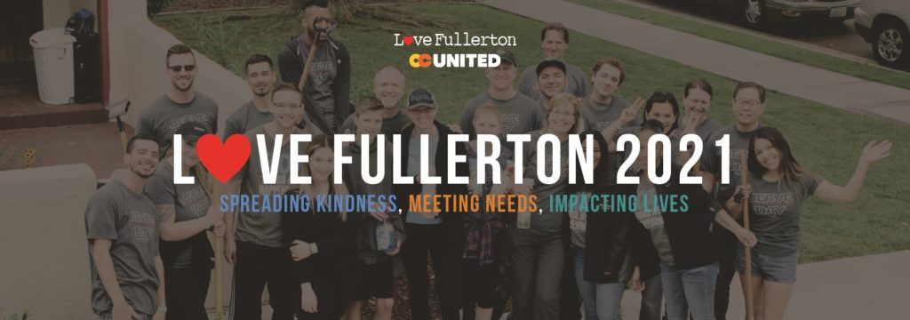 Love Fullerton is hosting its 2021 event on April 24 with a virtual rally and a capacity limit on project sites.