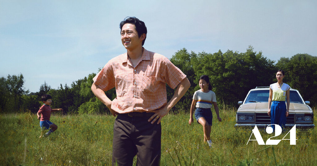 Steven Yeun, Han Ye-ri, Noel Cho, and Alan S. Kim are all stars in Minari, a film by Lee Isaac Chung. The film was released in the United States on February 12. 2021.