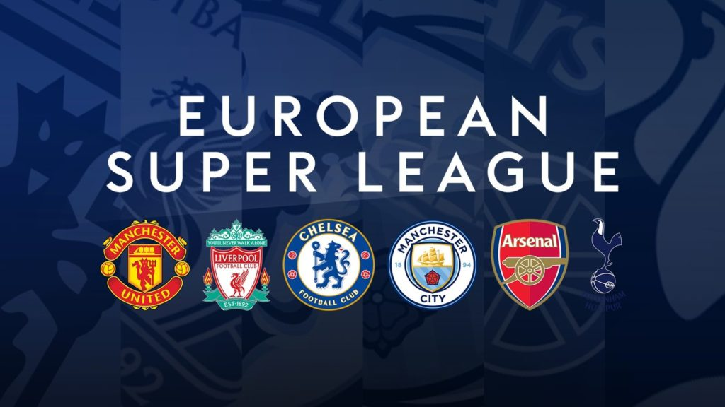 Six teams from England initially planned to compete in the proposed super league.