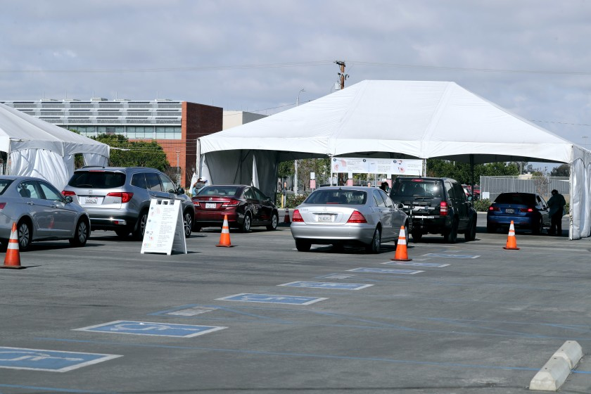 Testing at the OC Fair & Event Center is by appointment only and is open from 7 a.m. to 3 p.m.