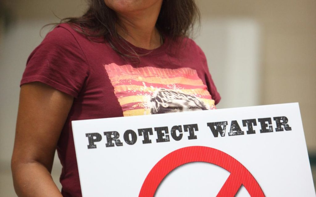 Winona LaDuke was involved in the Dakota Access Pipelines protests in 2016 and is now protesting a current pipeline in Minnesota called Line 3.