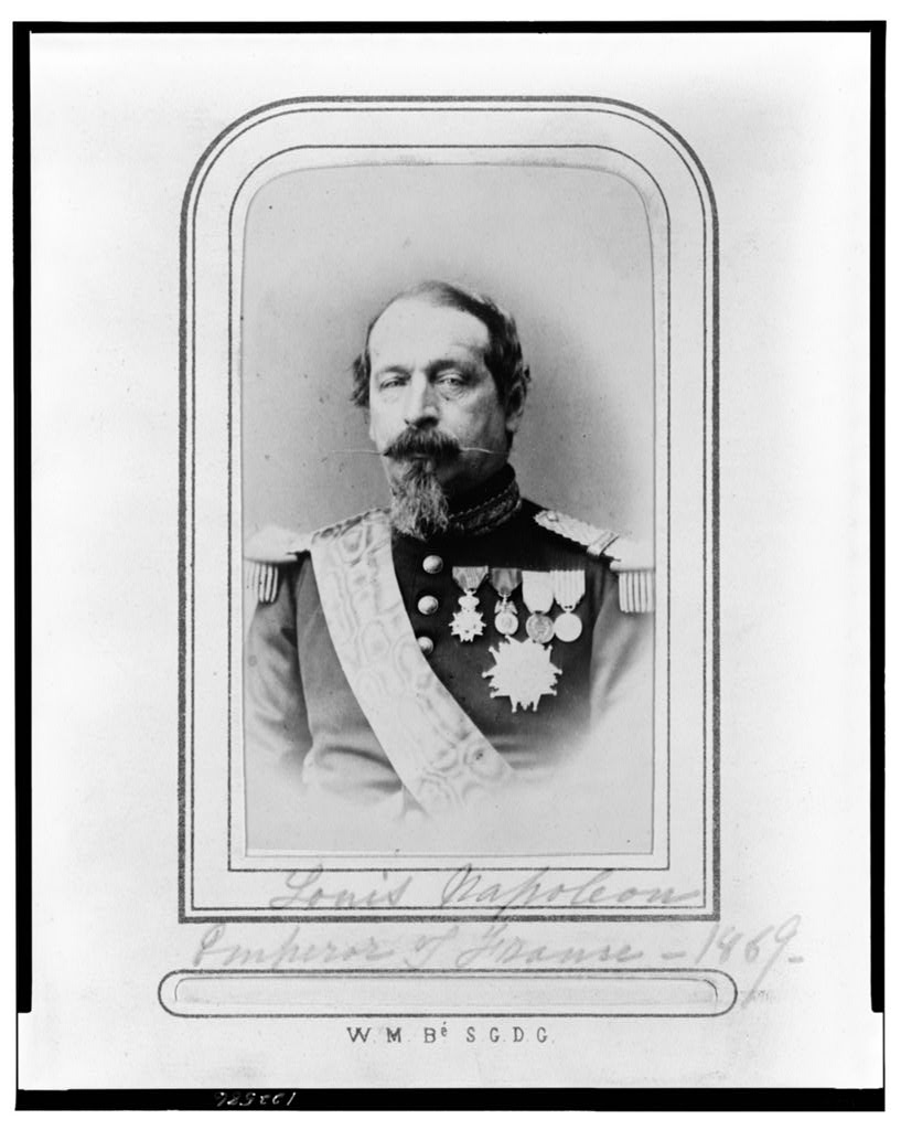 Emperor Napoleon III lead France in a conquest to establish French territory in the country of Mexico.