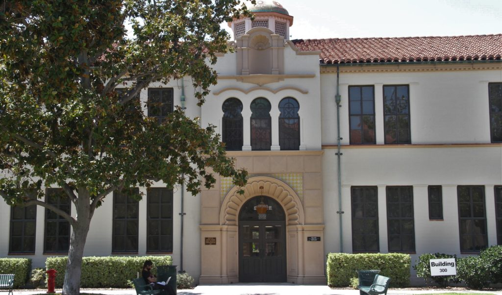 The 300 building was the first to be created on campus and holds cultural value to the Fullerton College Community.