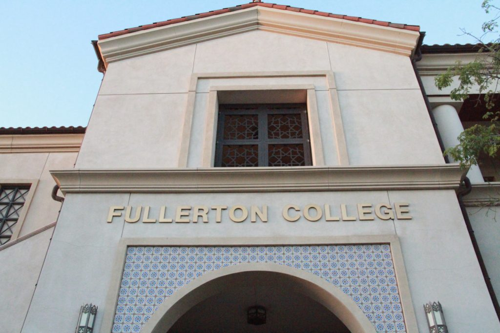 The large campus of Fullerton College has made it difficult to determine why there are more positive cases on campus.