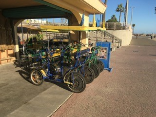 Bike rentals have seen a decline during the week of the oil spill.